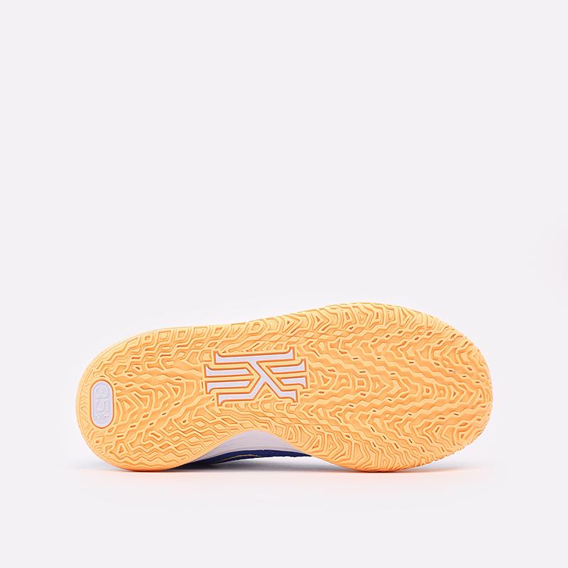 женские синие  кроссовки nike kyrie 7 (gs) CT4080-400 - цена, описание, фото 3