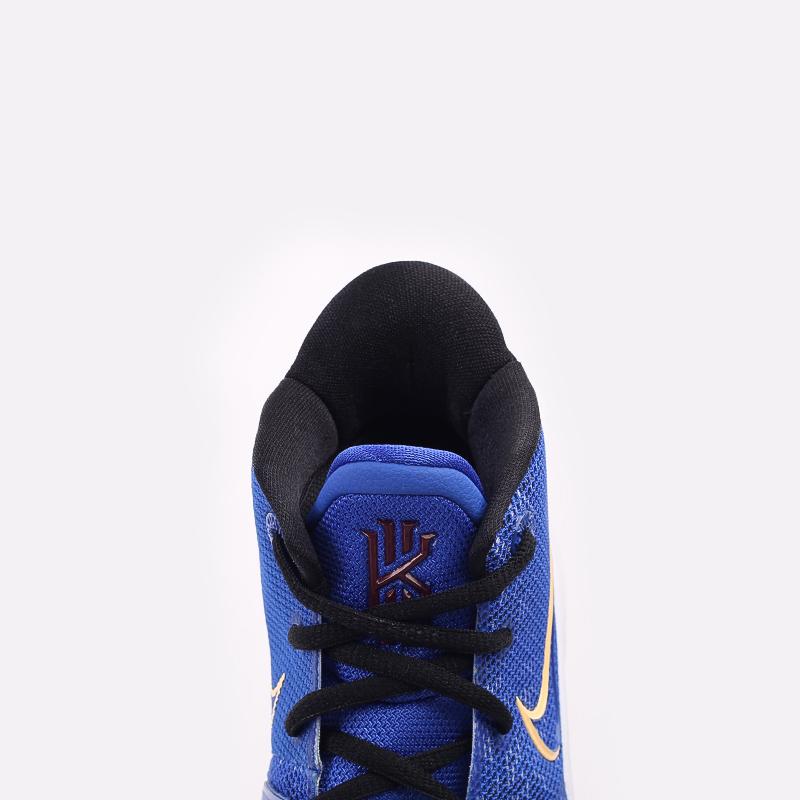 женские синие  кроссовки nike kyrie 7 (gs) CT4080-400 - цена, описание, фото 5