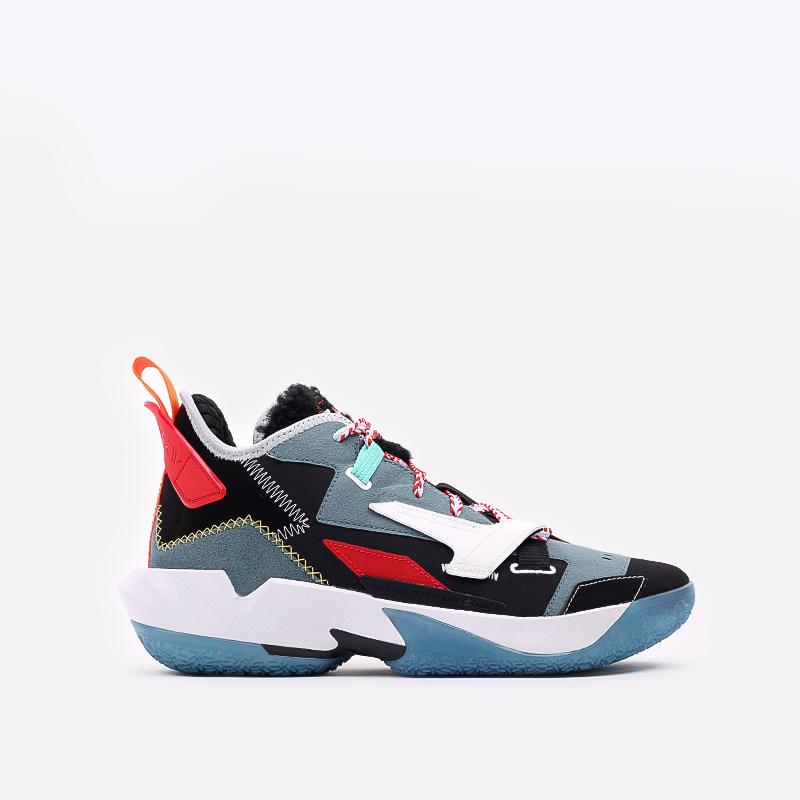 разноцветные  кроссовки jordan why not zero.4 prm DC3665-001 - цена, описание, фото 1
