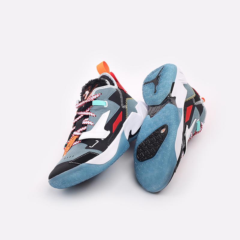 разноцветные  кроссовки jordan why not zero.4 prm DC3665-001 - цена, описание, фото 5