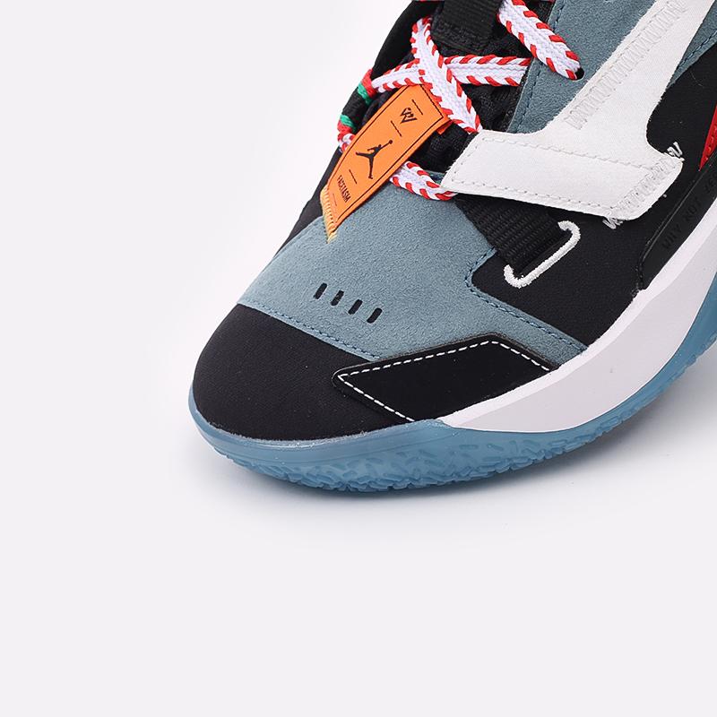 разноцветные  кроссовки jordan why not zero.4 prm DC3665-001 - цена, описание, фото 8