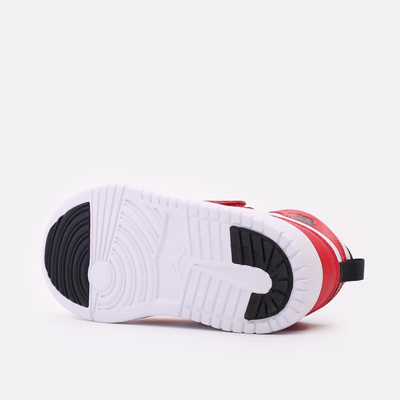 детские красные, белые  кроссовки jordan sky 1 (ps) BQ7197-106 - цена, описание, фото 4