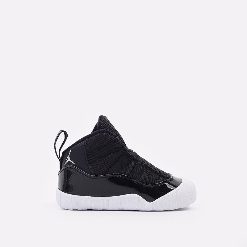 детские черные кроссовки Jordan 11 Crib Bootie CI6165-011 - цена, описание, фото 1