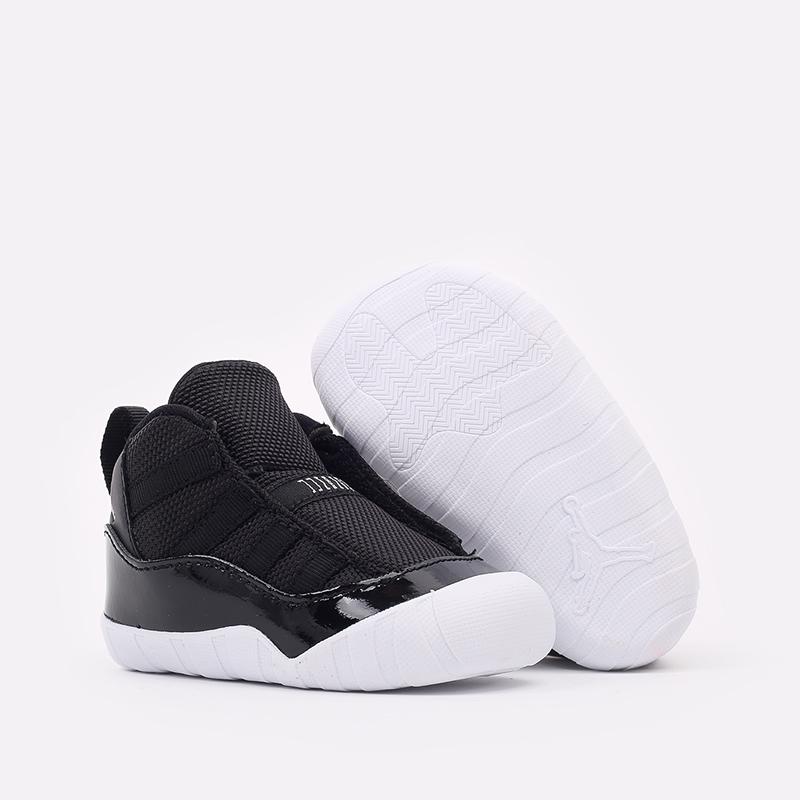 детские черные кроссовки Jordan 11 Crib Bootie CI6165-011 - цена, описание, фото 2