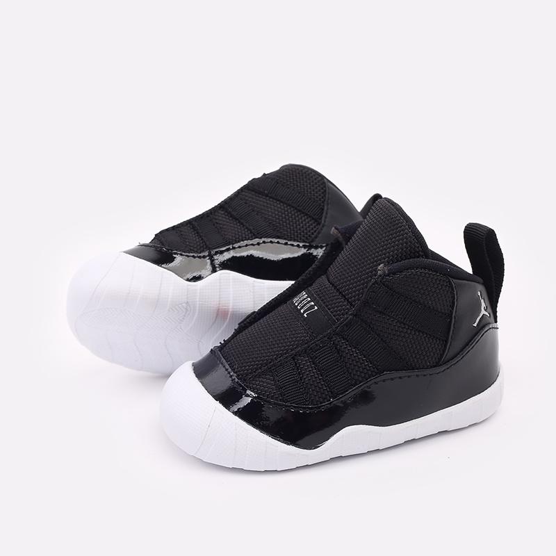 детские черные кроссовки Jordan 11 Crib Bootie CI6165-011 - цена, описание, фото 3