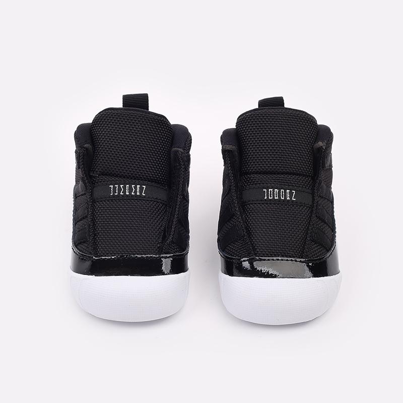 детские черные кроссовки Jordan 11 Crib Bootie CI6165-011 - цена, описание, фото 5