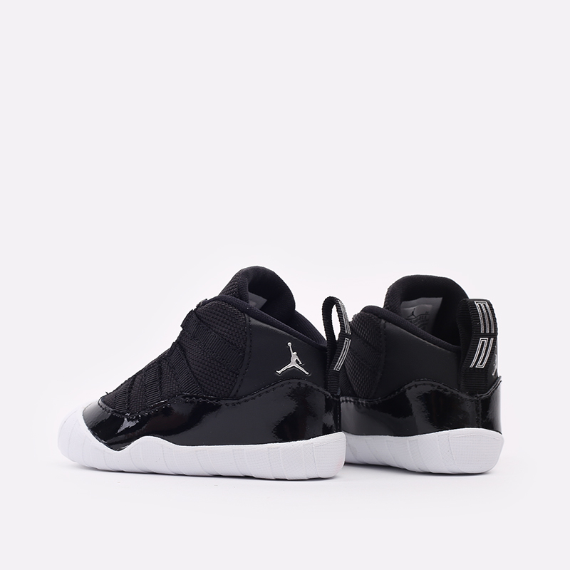 детские черные кроссовки Jordan 11 Crib Bootie CI6165-011 - цена, описание, фото 4