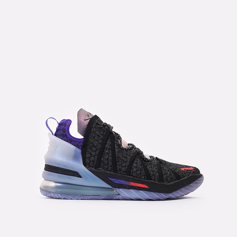 чёрные  кроссовки nike lebron xviii DB8148-001 - цена, описание, фото 1