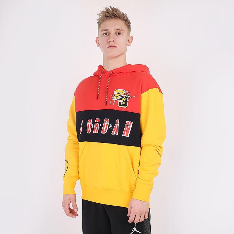 мужскую разноцветную  толстовка jordan sport dna  pullover hoodie CV2743-673 - цена, описание, фото 1