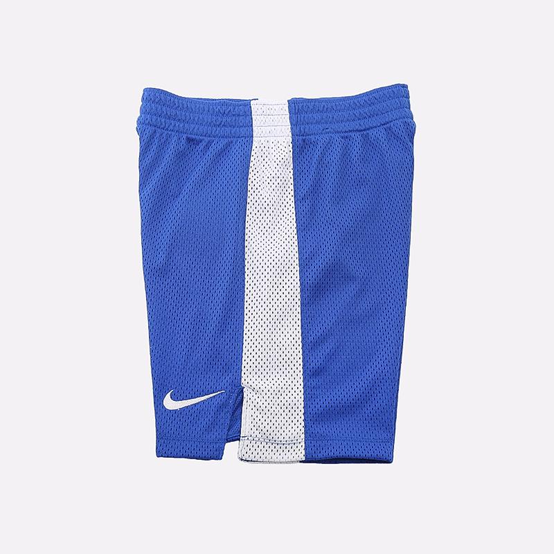 детские синие  шорты nike mesh CU1322-480 - цена, описание, фото 2