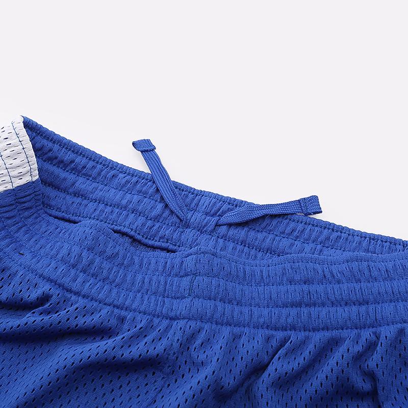 детские синие  шорты nike mesh CU1322-480 - цена, описание, фото 3
