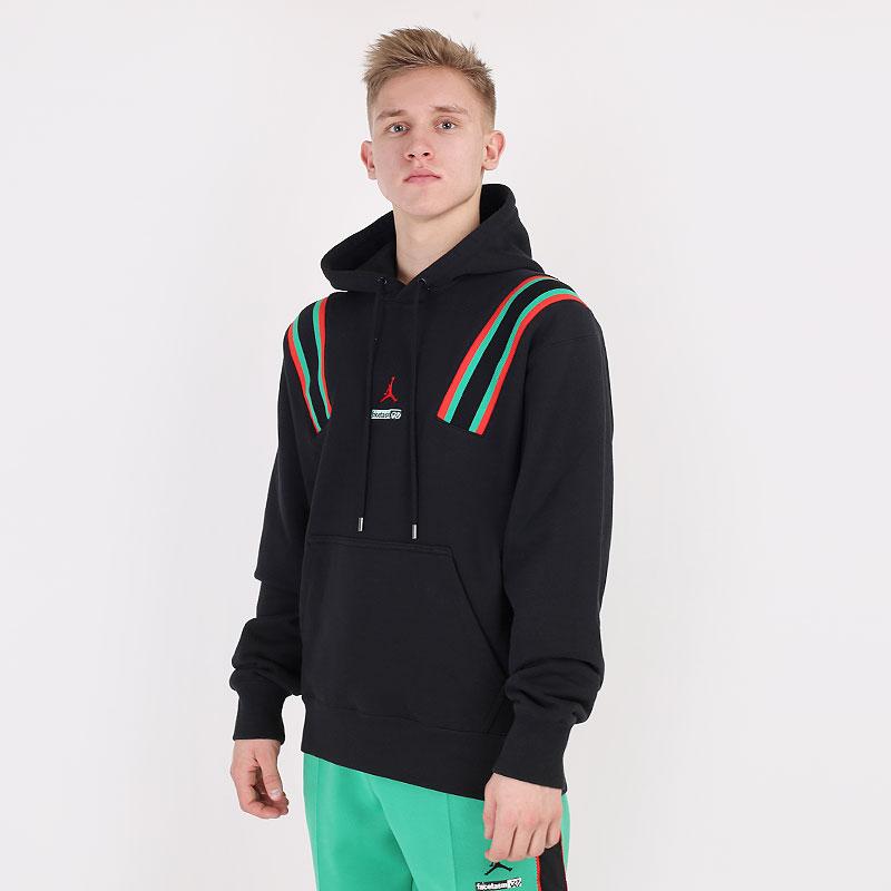 мужскую черную  толстовка jordan why not ? x facetasm hoodie DC4643-010 - цена, описание, фото 1