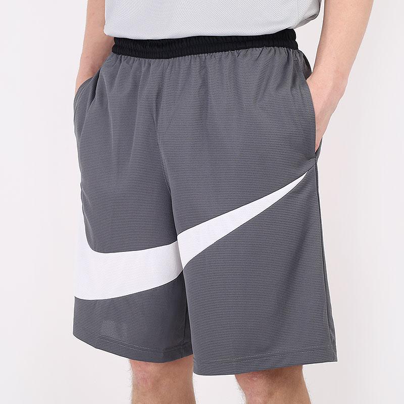 мужские серые  шорты  jordan dri-fit hbr shorts BV9385-068 - цена, описание, фото 1