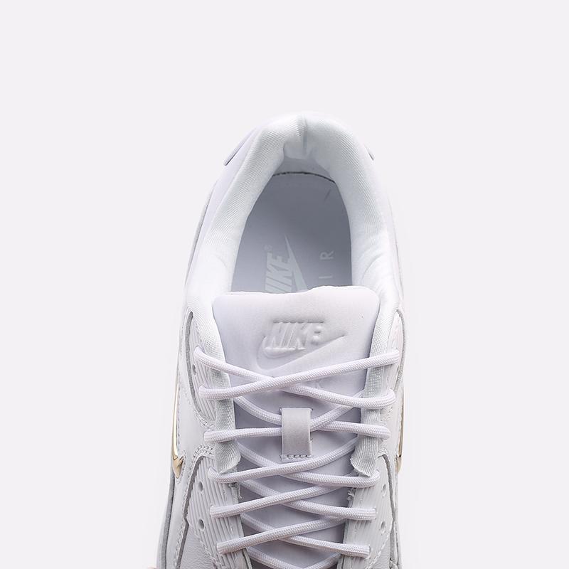 мужские белые  кроссовки nike air max 90 nrg CW4070-100 - цена, описание, фото 7