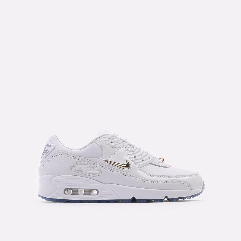 мужские белые  кроссовки nike air max 90 nrg CW4070-100 - цена, описание, фото 1
