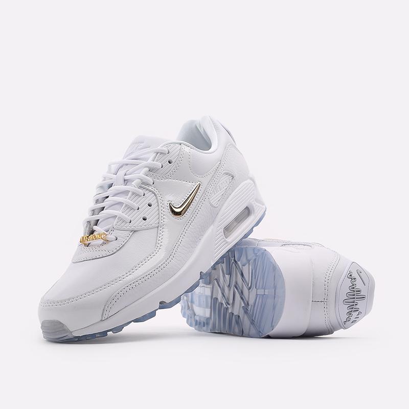 мужские белые  кроссовки nike air max 90 nrg CW4070-100 - цена, описание, фото 5