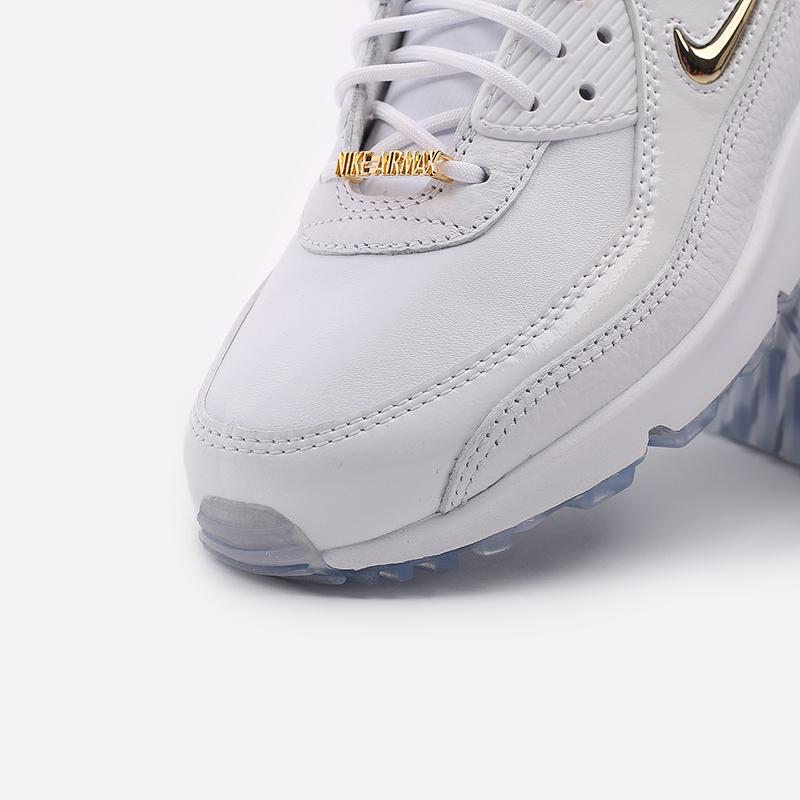 мужские белые  кроссовки nike air max 90 nrg CW4070-100 - цена, описание, фото 6