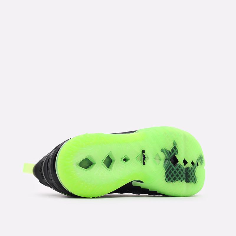 мужские чёрные  кроссовки nike lebron xviii CQ9283-005 - цена, описание, фото 3