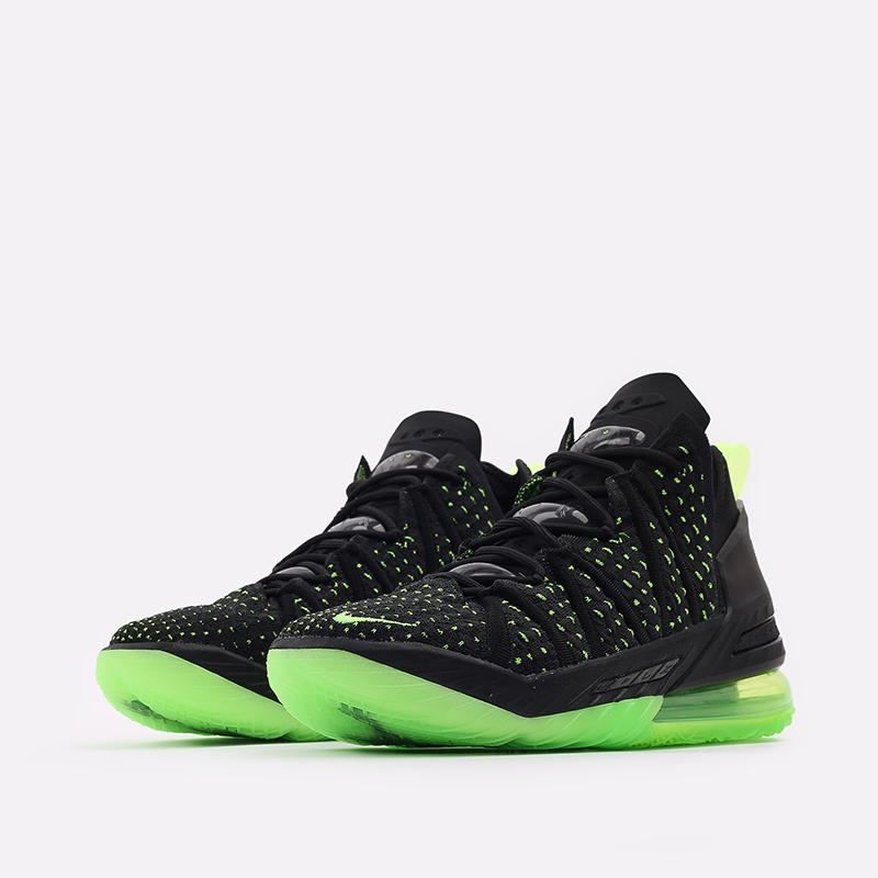 мужские чёрные  кроссовки nike lebron xviii CQ9283-005 - цена, описание, фото 2