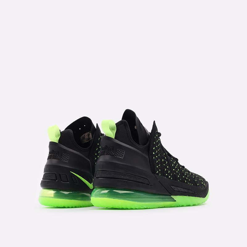 мужские чёрные  кроссовки nike lebron xviii CQ9283-005 - цена, описание, фото 4