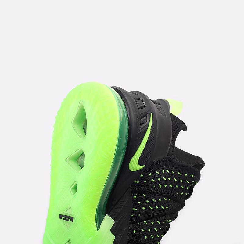мужские чёрные  кроссовки nike lebron xviii CQ9283-005 - цена, описание, фото 5