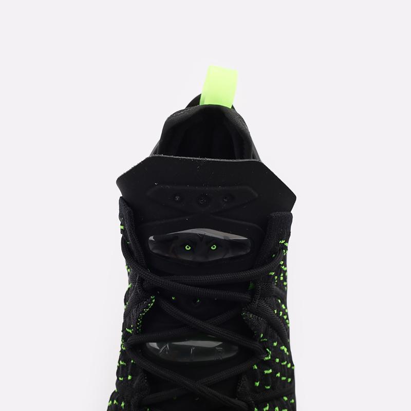 мужские чёрные  кроссовки nike lebron xviii CQ9283-005 - цена, описание, фото 6