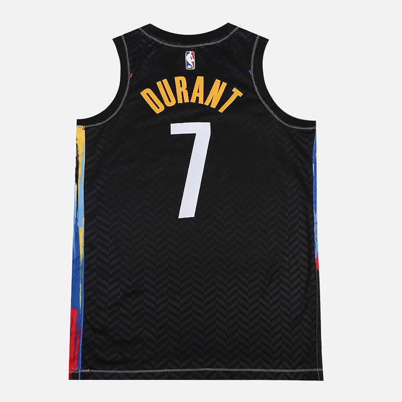 мужскую черную  майку nike nba swingman brooklyn nets city edition CN1713-010 - цена, описание, фото 5