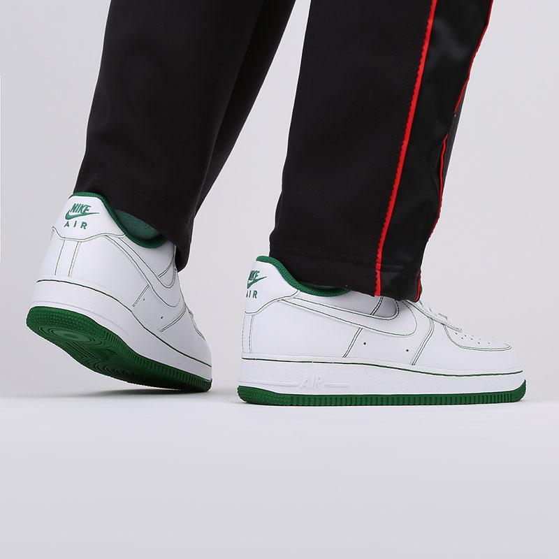 мужские белые  кроссовки nike air force 1 '07 CV1724-103 - цена, описание, фото 8