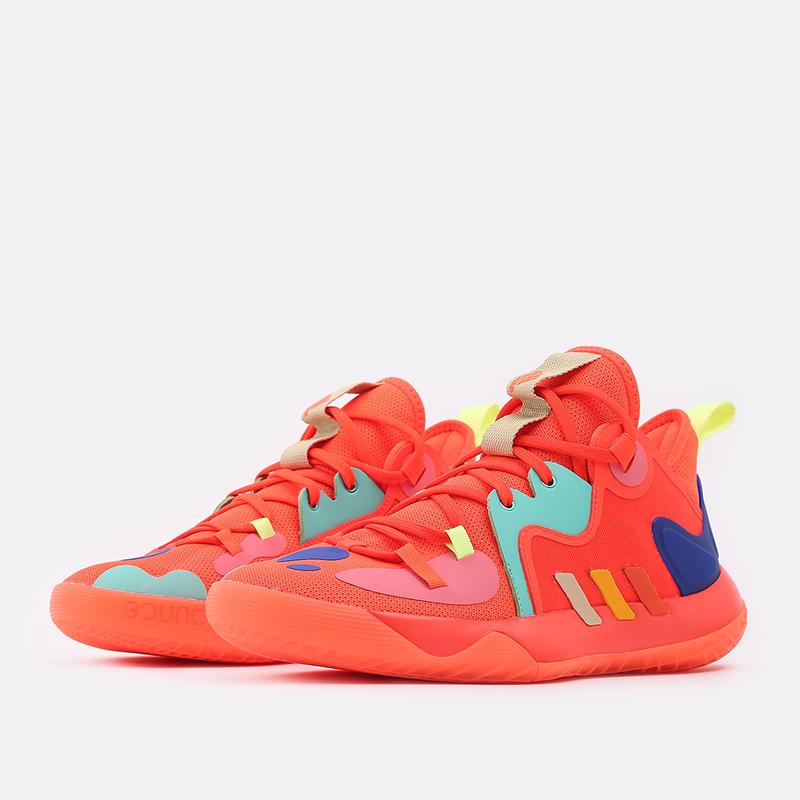 оранжевые  кроссовки adidas harden stepback 2 FZ1077 - цена, описание, фото 4