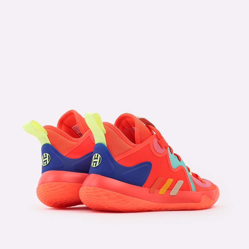 оранжевые  кроссовки adidas harden stepback 2 FZ1077 - цена, описание, фото 3