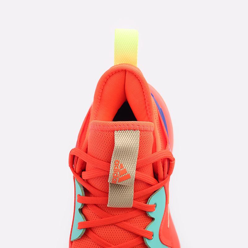 оранжевые  кроссовки adidas harden stepback 2 FZ1077 - цена, описание, фото 7