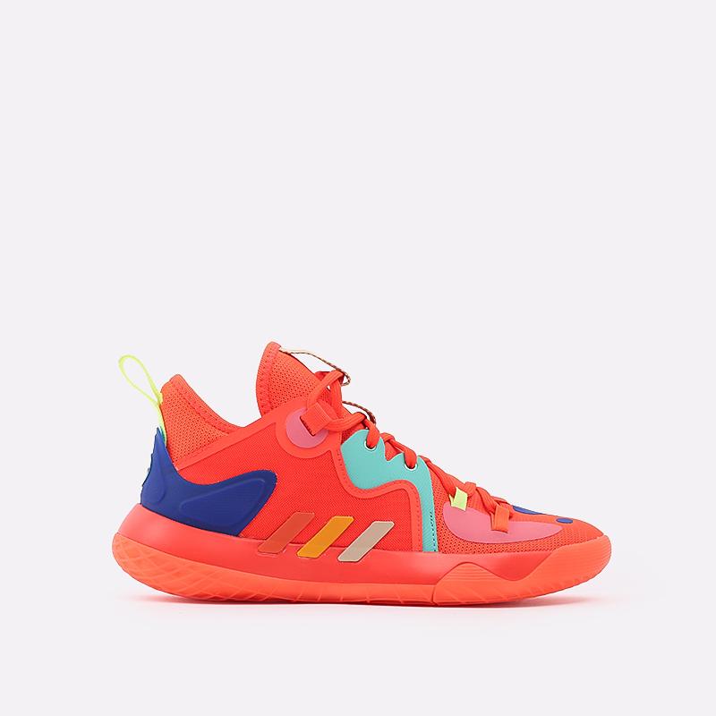 оранжевые  кроссовки adidas harden stepback 2 FZ1077 - цена, описание, фото 1