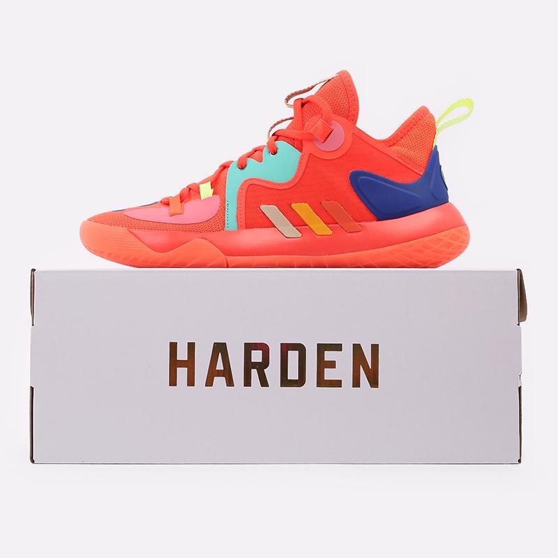 оранжевые  кроссовки adidas harden stepback 2 FZ1077 - цена, описание, фото 2