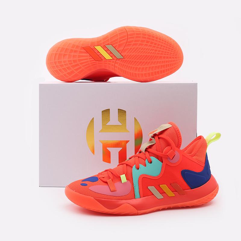 оранжевые  кроссовки adidas harden stepback 2 FZ1077 - цена, описание, фото 5