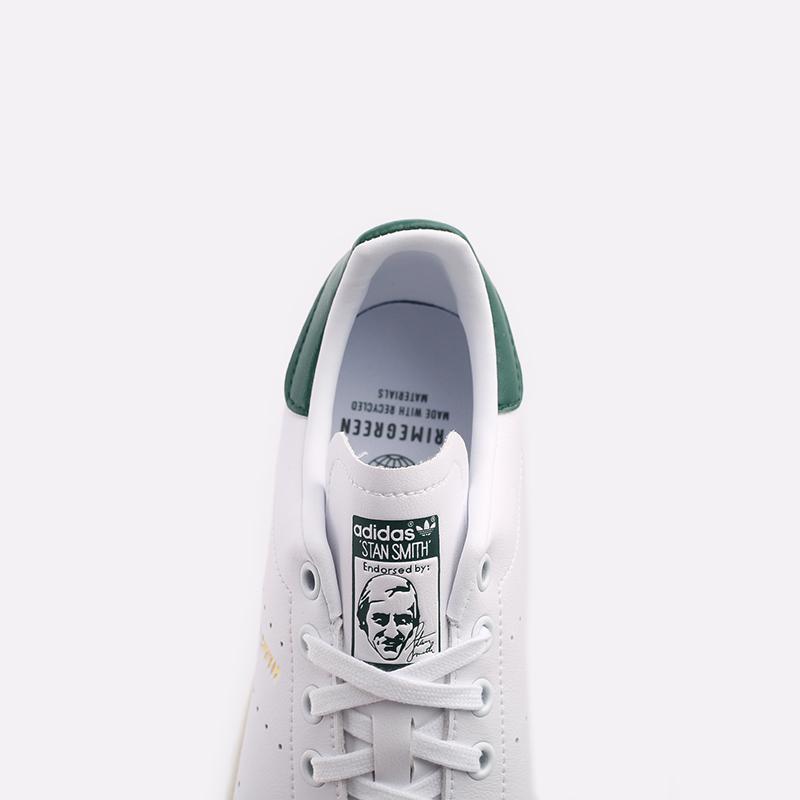 мужские белые  кроссовки adidas stan smith FX5522 - цена, описание, фото 5