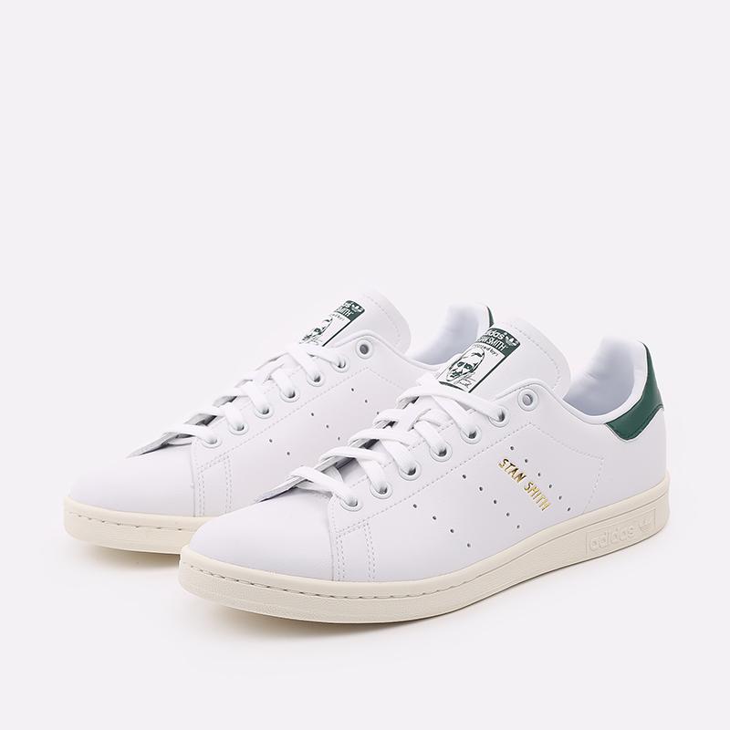 мужские белые  кроссовки adidas stan smith FX5522 - цена, описание, фото 2