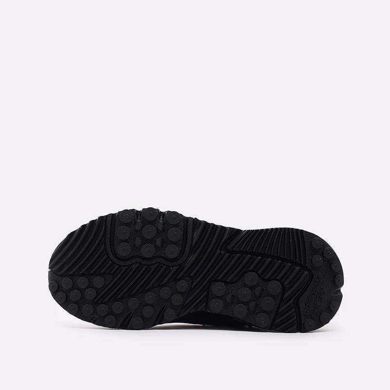 мужские чёрные  кроссовки adidas nite jogger winterized FZ3661 - цена, описание, фото 3