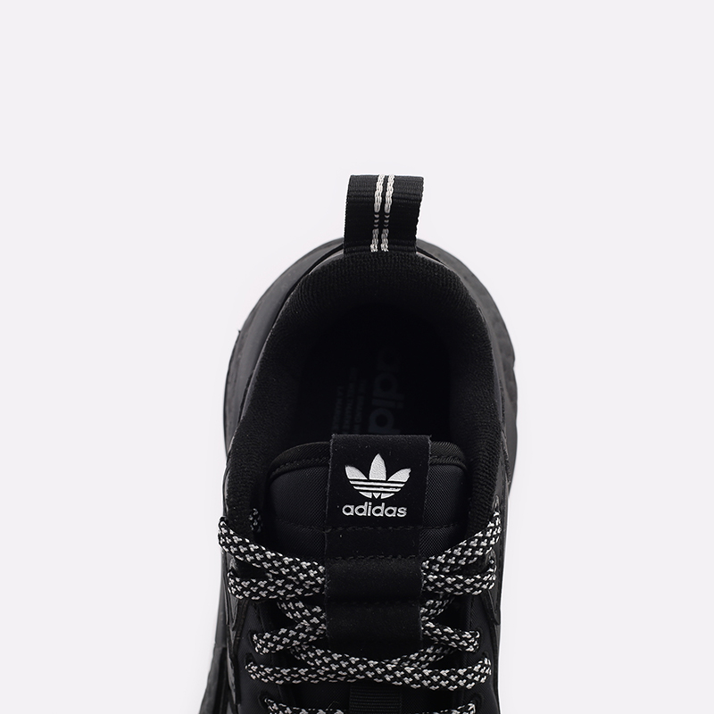 мужские чёрные  кроссовки adidas nite jogger winterized FZ3661 - цена, описание, фото 5