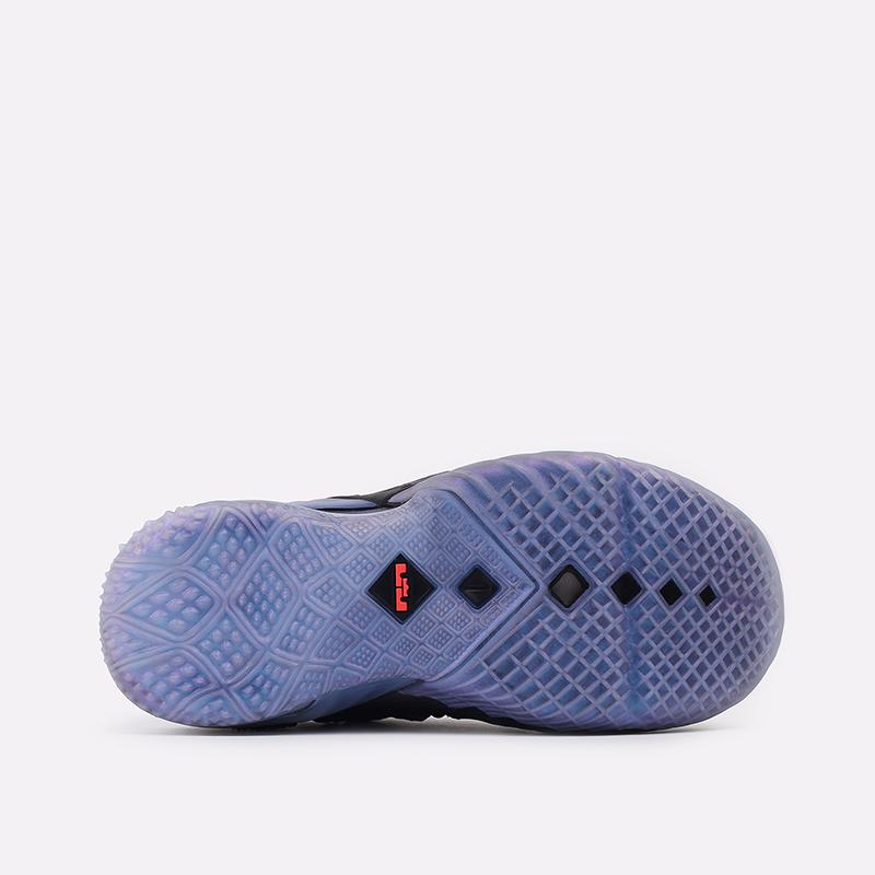 женские чёрные  кроссовки nike lebron xviii nrg (gs) CT4677-001 - цена, описание, фото 3