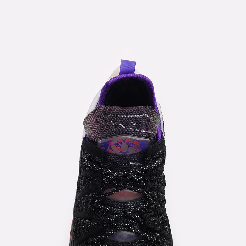 женские чёрные  кроссовки nike lebron xviii nrg (gs) CT4677-001 - цена, описание, фото 5