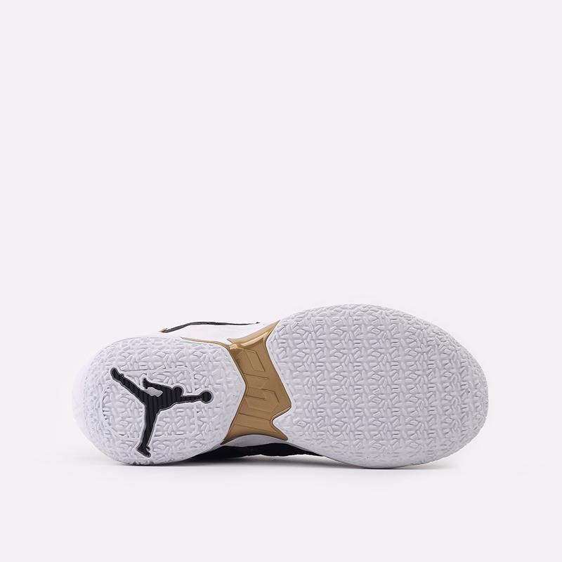 женские чёрные  кроссовки jordan why not zero.4 (gs) CQ9430-001 - цена, описание, фото 4