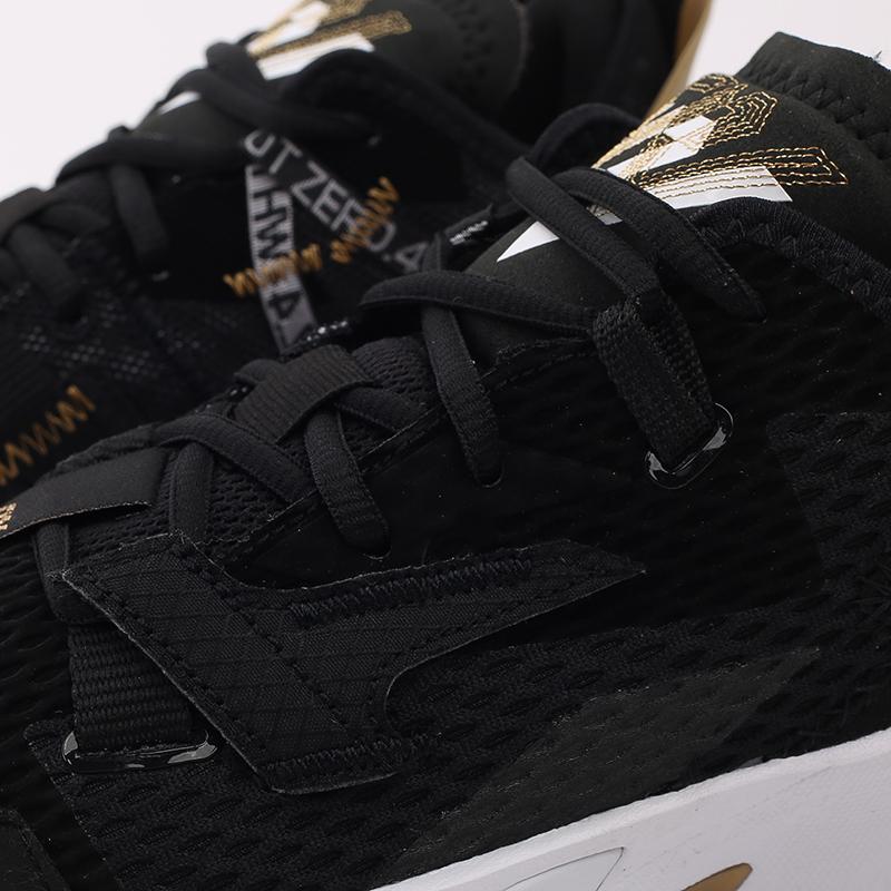 женские чёрные  кроссовки jordan why not zero.4 (gs) CQ9430-001 - цена, описание, фото 6