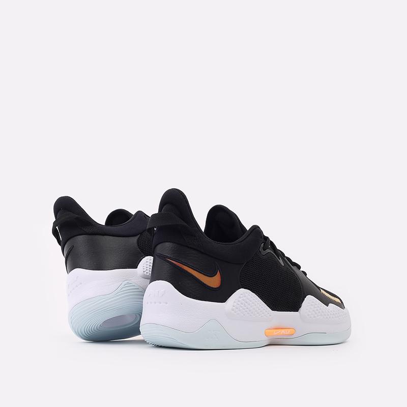мужские чёрные  кроссовки nike pg 5 CW3143-001 - цена, описание, фото 3