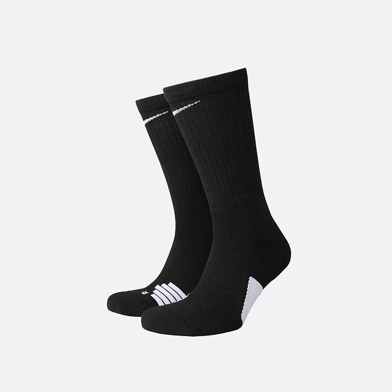 мужские чёрные  носки nike elite SX7622-013 - цена, описание, фото 1
