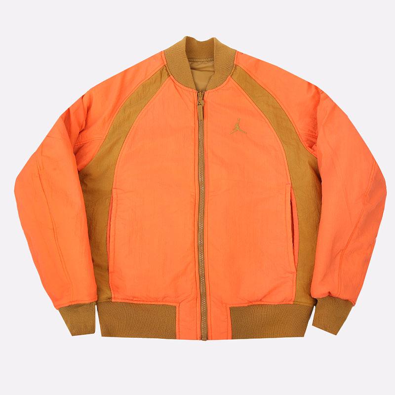 мужскую бежевую  куртку jordan flight ma-1 reversible bomber jacket CV2242-772 - цена, описание, фото 7