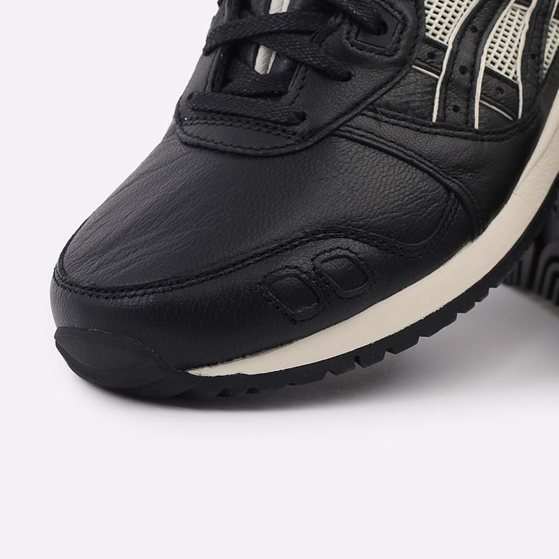 мужские чёрные  кроссовки asics gel-lyte iii og 1201A081-001 - цена, описание, фото 6