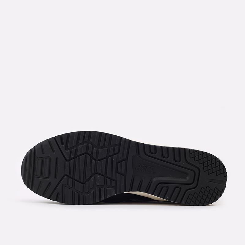 мужские чёрные  кроссовки asics gel-lyte iii og 1201A081-001 - цена, описание, фото 4