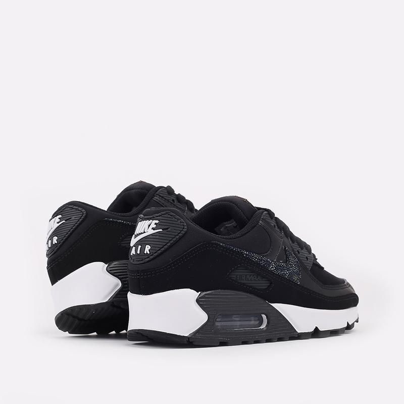 женские чёрные  кроссовки nike wmns air max 90 se CV8824-001 - цена, описание, фото 3