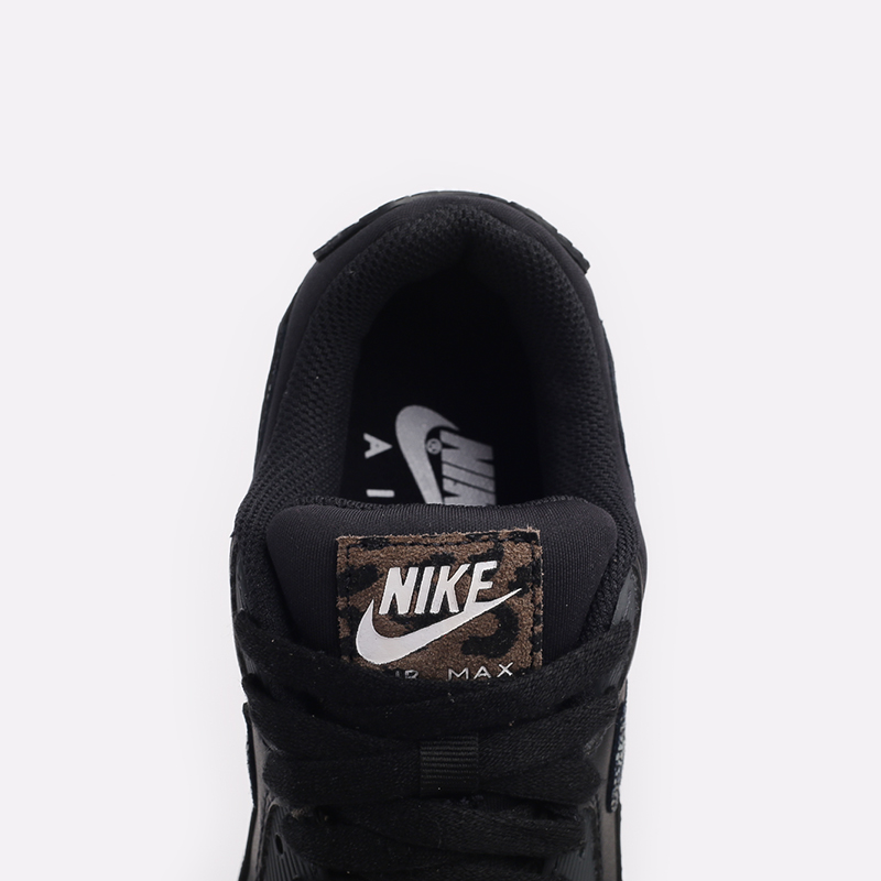 женские чёрные  кроссовки nike wmns air max 90 se CV8824-001 - цена, описание, фото 5