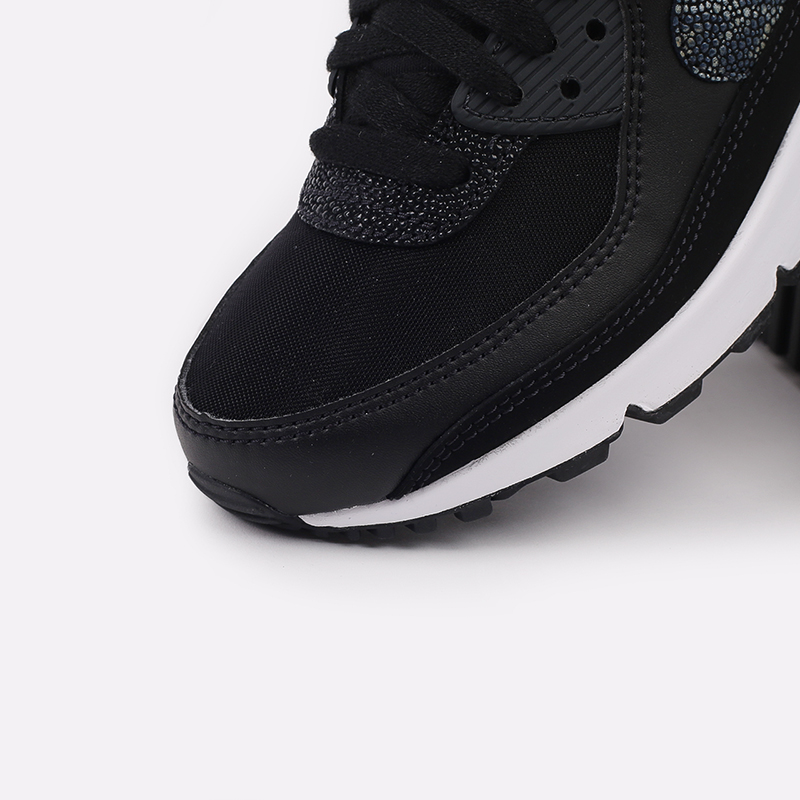 женские чёрные  кроссовки nike wmns air max 90 se CV8824-001 - цена, описание, фото 6